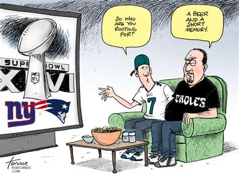 Five Funny Super Bowl Cartoons