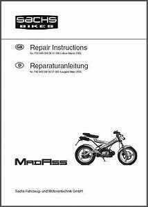 Sachs Madass Service  U0026 Owners Manual Cd