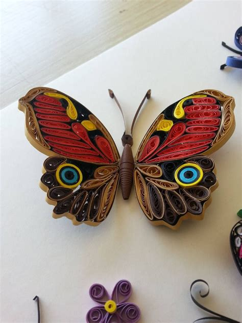 butterfly butterfly quilling designs