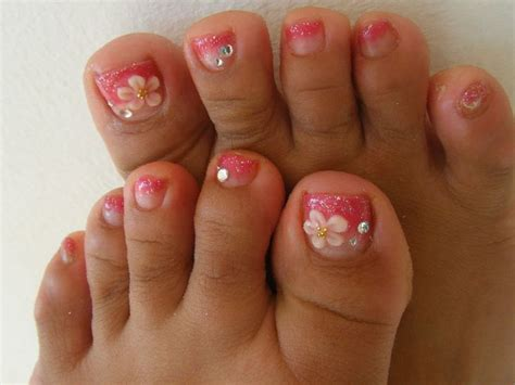 Nail Art Design Pedicure