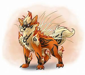 Mega Arcanine Commission/ Collaoration by Bluepisces97 on ...