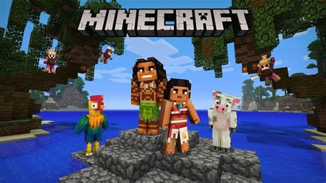 Minecraft Moana Character Pack Now Available! Youtube