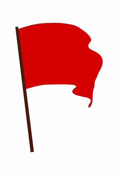 Flag Clip Clipart Cartoon Waving Svg Revolution