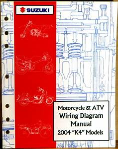 Suzuki Service Manual Motorcycle  U0026 Atv Wiring Diagram 2004