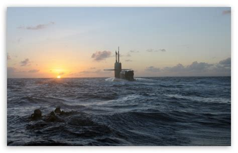 Us Military Submarine 4k Hd Desktop Wallpaper For 4k Ultra