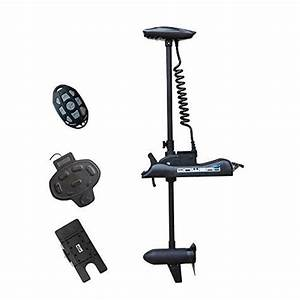 Aquos Haswing 12v 55lbs Bow Mount Electric Trolling