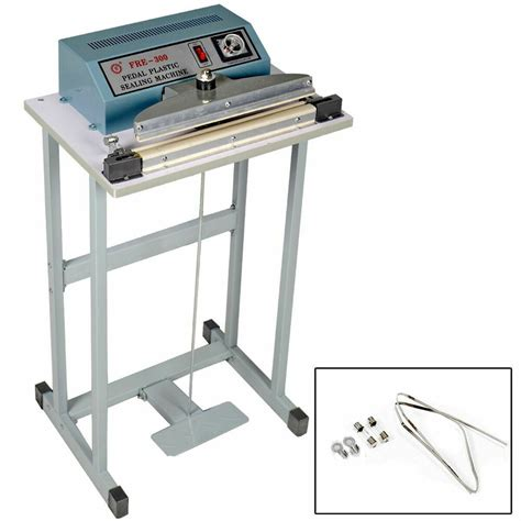 foot pedal impulse sealer heat seal machine plastic bag sealing ebay