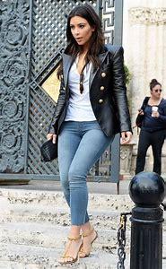 Kim Kardashian Casual Outfits