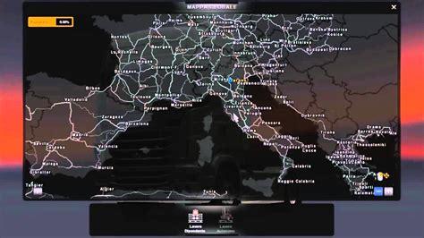 euro truck simulator  aggiornamento mappa   youtube