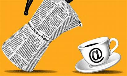 Newspapers Essay Electronic Internet Times Technology Trump