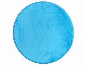 tapis enfant miki round coloris bleu vente de tapis With conforama tapis rond