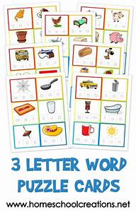 three letter word cards free printable With 3 letter word books