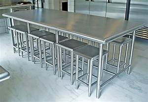 Stainless Steel Kitchen Furniture - Brooks Custom