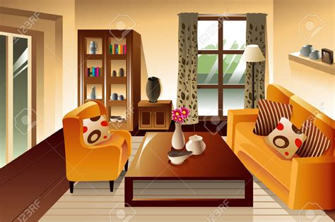 Living Room Clipart by Sitting Room Clipart Clipground