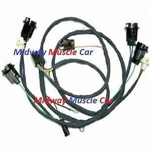 Rear Body Tail Light Wiring Harness 66 67 Chevy Chevelle Malibu Ss Chevrolet