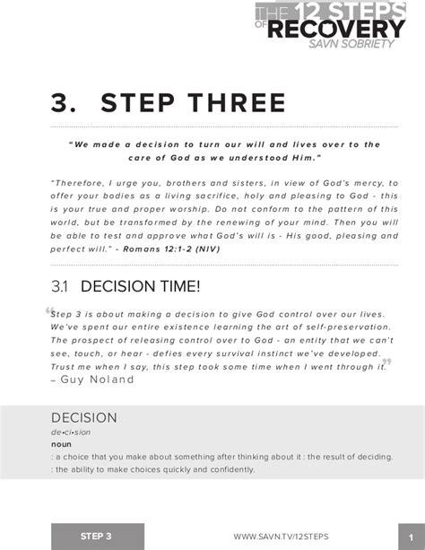 step 3 aa worksheet kidz activities