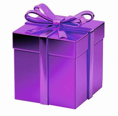 Purple Gift Transparent Regalo Cadeau Navidad Presents