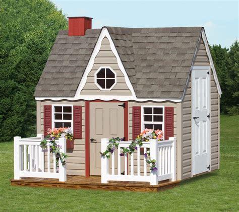 custom play house  sale space makers sheds bear de