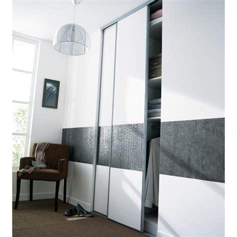 porte placard chambre portes de placard coulissantes kraft 250 x 120 castorama