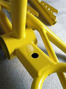Super Durable Gloss Yellow Powder Coat Paint 5 LBS FREE