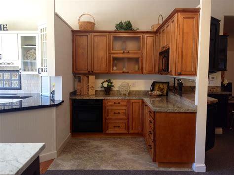 kitchen cabinets san carlos lagrange display cabinets whiskey black glaze on 6372