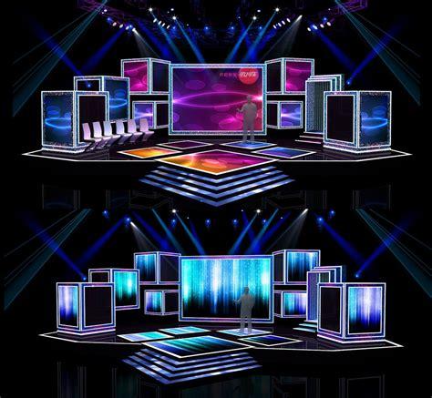 Concert Stage Design 7 3d Model Obj Cgtradercom