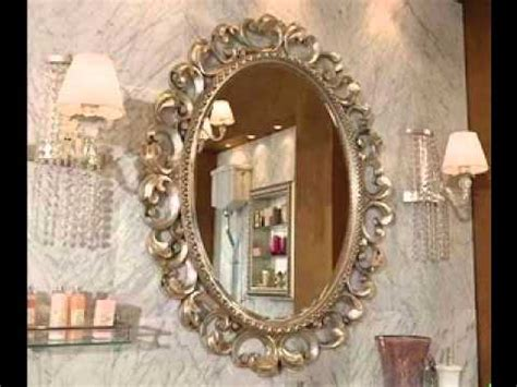 decorative bathroom mirrors youtube