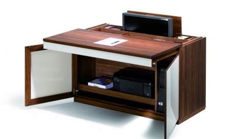 secretaire moderne bureau cubus pc secretaire team 7