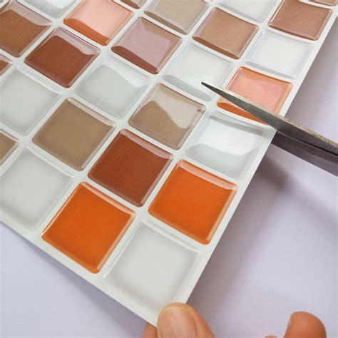 adhesive backsplash tiles for kitchen self adhesive kitchen backsplash tile 12 39 39 x 12 39 39 set of 6