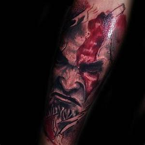 30, kratos, tattoo, designs, for, men