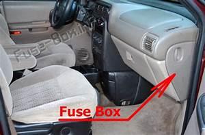 Fuse Box Diagram  U0026gt  Pontiac Trans Sport  1997