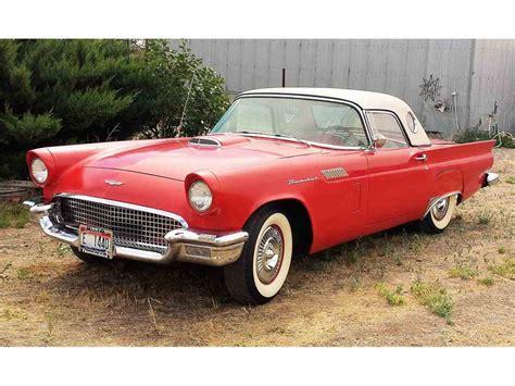 57 Thunder Bird by 1957 Ford Thunderbird For Sale Classiccars Cc 873733