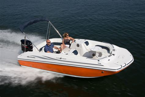 Hurricane Aluminium Boats by Research 2016 Hurricane Deck Boats Ss 188 Ob On Iboats