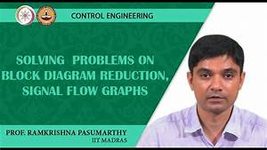 Solving Problems On Block Diagram Reduction  Signal Flow