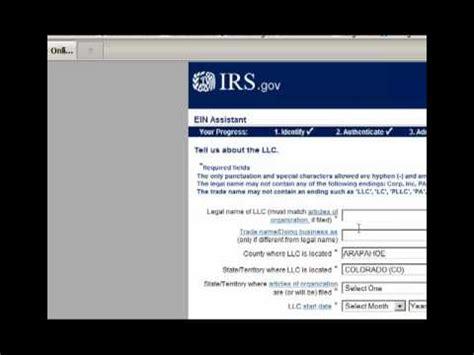 tax id   irs website form ss youtube