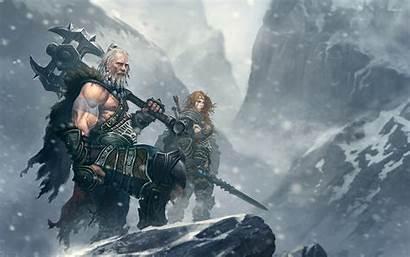 Diablo Iii Wallpapers Crusader Barbarian Backgrounds Desktop