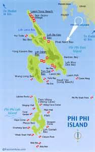 Thailand Islands Map