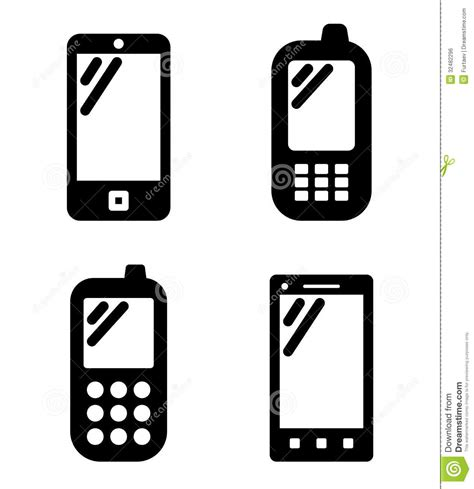 Cell Phone Signs Royalty Free Stock Image  Image 32482296