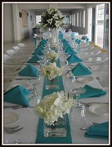 turquoise wedding centerpieces reference for wedding With turquoise wedding centerpiece ideas