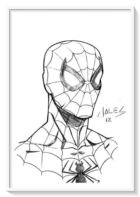 Spiderman para Colorear + 130 imágenes del hombre araña