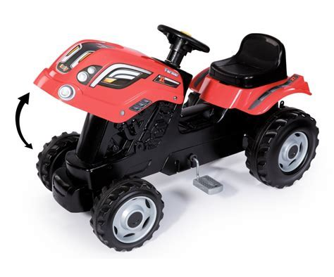 SMOBY Tractor Farmer XL (red)   Tractors   Vehicles   shop