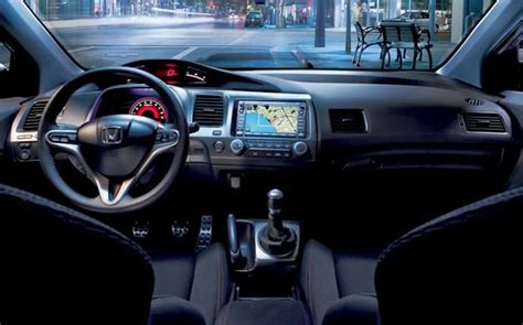 2008 Honda Civic Ex L Coupe Interior Pictures