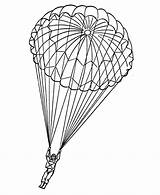 Paratrooper Coloring Pages War Parachute Armed Forces Army Drawing Sheets Ii Wwii Adults Airborne 82nd Military Veterans Sketch Template Usa sketch template