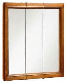 montclair chestnut glaze triple door medicine cabinet