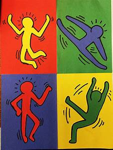 keith haring figures related keywords keith haring With keith haring figure templates