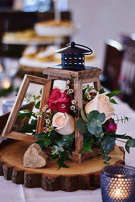 20 Rustic Lantern Wedding Centerpieces for 2020 Roses