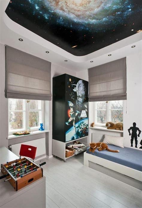 Kinderzimmer Junge Bett by Einrichten Kinderzimmer Junge Weltall Motto
