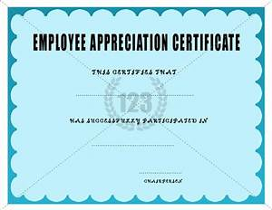 The 25 best sample certificate of recognition ideas on for Employee anniversary certificate template