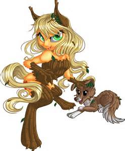 MLP Applejack as a Timber Wolf