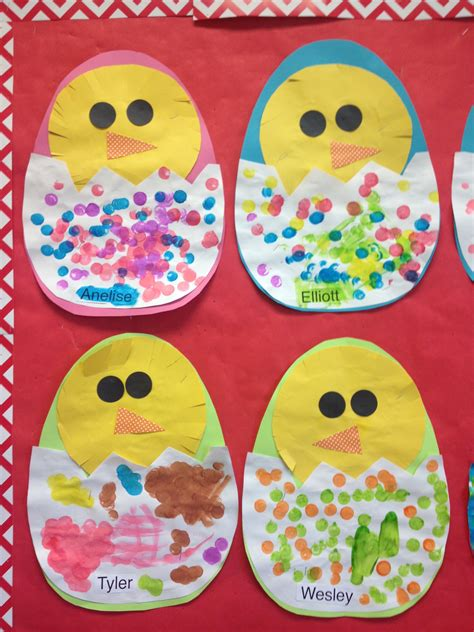 in eggs preschool easter crafts for 969 | 636db77741c6f840991ec5b3e0f4b5bc